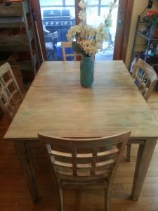 Refinshed Table